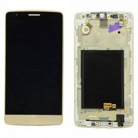 Pantalla completa con marco LG G3 mini D722 oro