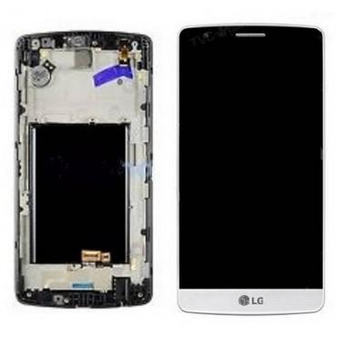 Pantalla completa con marco LG G3 mini D722 blanca