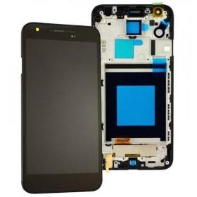 Pantalla completa Con Marco LG Nexus 5X H791 negra