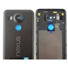 Carcaça Tapa Traseira de Bateria LG Nexus 5X H791Preta