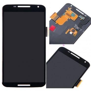 Pantalla completa Motorola Nexus 6 negra