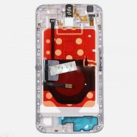 Carcasa central Motorola XT1100 XT1103 Google Nexus 6 blanco