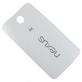 Tapa bateria Motorola Nexus 6 Blanca