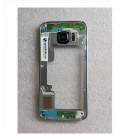 Chasis central para Samsung Galaxy S6 Edge G925F Negro Remanufacturado