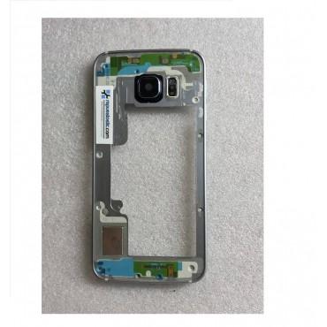 Chasis central para Samsung Galaxy S6 Edge G925F Gris