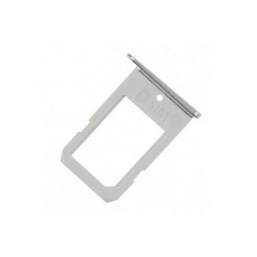 Bandeja porta SIM Samsung Galaxy S6 Edge G925F Plata