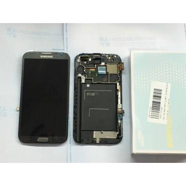 Pantalla completa Samsung N7100 gris Original