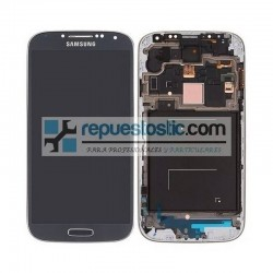 Pantalla Completa Gris Samsung Galaxy S4 Plus GT-I9506 ORIGINAL