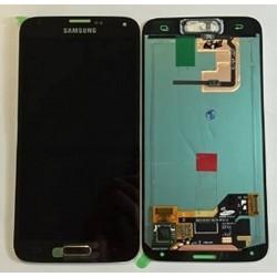 Ecrã completa LCD mas Táctil cor gold Samsung Galaxy S5, SM-G900F Original