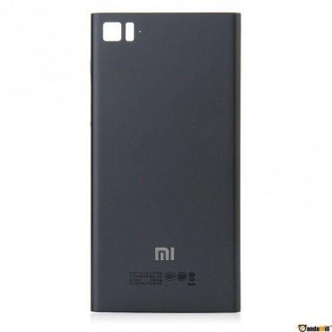 Carcasa trasera Negra para Xiaomi Mi3 VERSIÓN WCDMA
