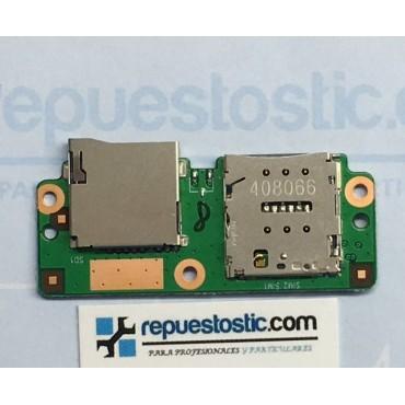 Lector de tarjeta micro SD y SIM Original Bq Edison 3 Modelo 3G
