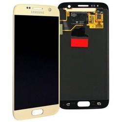 Pantalla completa color ORO Samsung Galaxy S7, G930F ORIGINAL