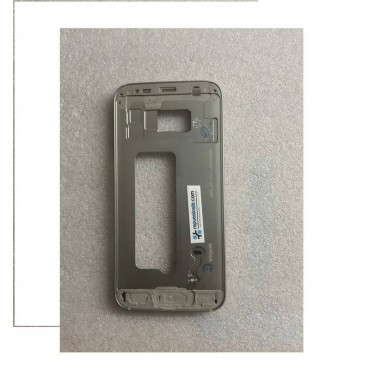 Carcasa central dorada para Samsung Galaxy S7, G930F