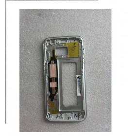 Carcasa central Plateada para Samsung Galaxy S7, G930F Remanufacturada