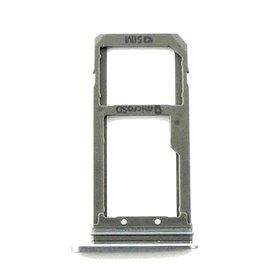 Bandeja SIM y SD negra para Samsung Galaxy S7, G930F