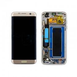 Pantalla Original para Samsung Galaxy S7 Edge SM-G935F - Oro LCD Display , Tactil con Marco
