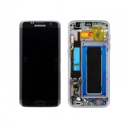 Pantalla LCD Display , Tactil con Marco Original para Samsung Galaxy S7 Edge SM-G935F - Negra