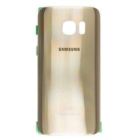 Carcasa trasera dorada para Samsung Galaxy S7 Edge, G935F
