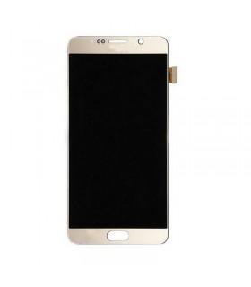 Pantalla completa para Samsung Galaxy Note 5, SM-N920I en color Oro ORIGINAL