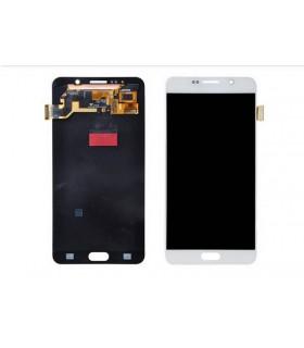 Pantalla completa para Samsung Galaxy Note 5, SM-N920I en color blanco ORIGINAL