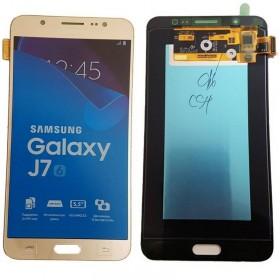 Pantalla completa Samsung Galaxy J7 (2016) dorada ORIGINAL