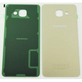 Tapa trasera Dorada, para Samsung Galaxy A5 (2016), A510F.