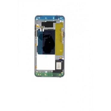 Carcasa central ORIGINAL para Samsung Galaxy A5 2016, A510F Negra