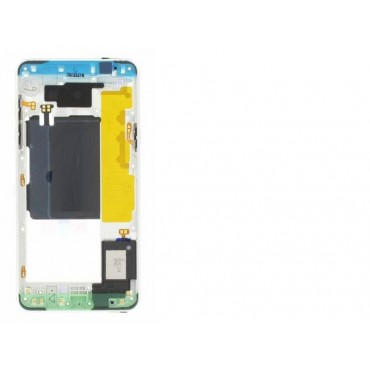 Carcasa central para Samsung Galaxy A5 2016, A510F Blanca