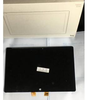 Pantalla completa con marco negra para BQ Tesla 2 W8 / W10 de 10.1 ORIGINAL