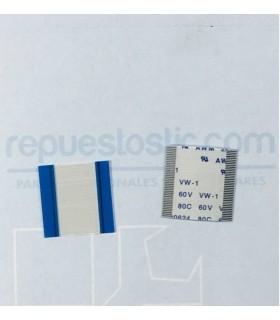 Flex de interconexión display com placa base para BQ Tesla 2 W / W10