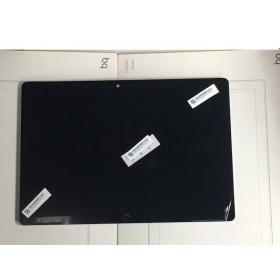Pantalla completa con marco ORIGINAL para BQ Aquaris M10 HD Negra