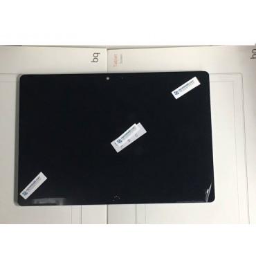 Pantalla completa con marco ORIGINAL para BQ Aquaris M10 FHD Negra