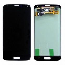 pantalla completa para samsung Galaxy S5, SM-G900F negra