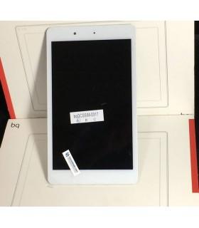 Pantalla LCD Display Y Tactil con Marco Original para BQ Edison 3 Mini - Blanca