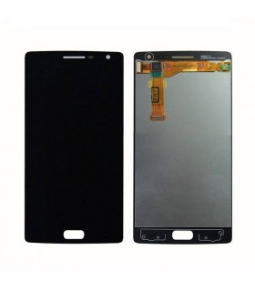 Pantalla completa (LCD,display con digitalizador,táctil) negra para Oneplus 2