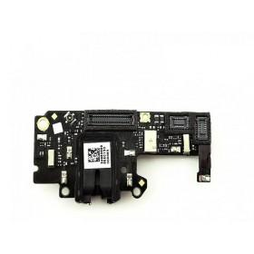 Placa auxiliar con conector de audio jack y conector de antena para OnePlus 3