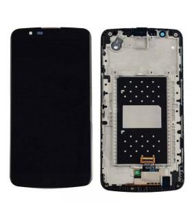 Pantalla LCD Display , Tactil Con Marco para LG K10 K420N -Negra
