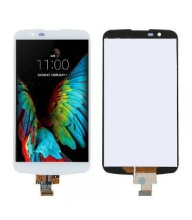 Ecrã LCD Display , Tactil para LG K10 K420N Branca