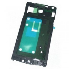Carcasa central negra para Samsung Galaxy A7, A700F