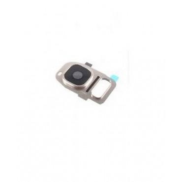 Embellecedor de Camara para Samsung Galaxy S7 Edge SM-G935F ,S7 G930F- Dorado
