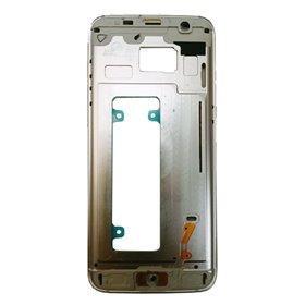 Carcasa central original para Samsung Galaxy S7 Edge, G935F-Blanca Remanufacturada