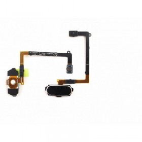 Flex con botón Home para Samsung Galaxy S6, G920F-Negro