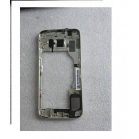 Carcasa Intermedia con Lente Y Buzzer para Samsung Galaxy S6 SM-G920 - Dorada (Remanufacturado )