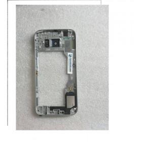 Carcasa Intermedia con Lente Y Buzzer para Samsung Galaxy S6 SM-G920 - Negra (Remanufacturado )