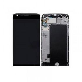 Pantalla completa con Marco para LG G5, H850- Negra