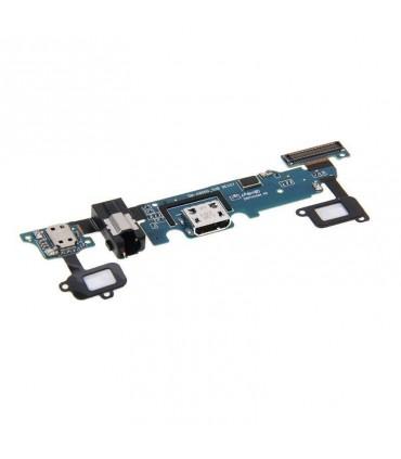 Flex de carga con pulsadores de menu y conector de audio para Samsung Galaxy A8, A800
