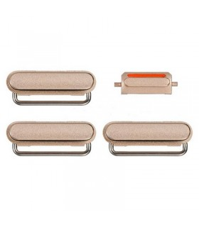 Set de botones laterales Dorados para iPhone 6s plus