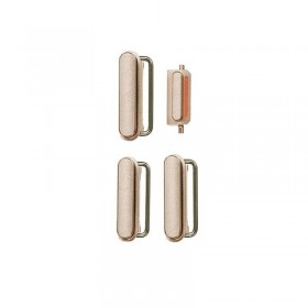 Conjunto de 4 botones Dorados para iPhone 6s