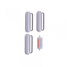 Conjunto de 4 botones Plateados Dorados para iPhone 6s