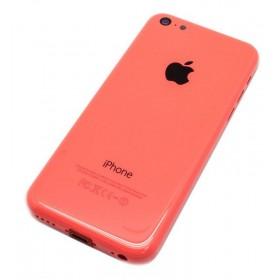 tapa carcasa trasera completa para iphone 5c en color Rosa
